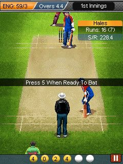 Free Download Ultimate Cricket World Cup 2015 for Nokia C2-02 / C2