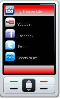 Free Download 4g Browser Lite for Java - App