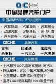 Brand vehicles - chinese site
