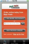 Baja Fresh - Food Ordering