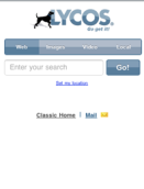 Lycos Mobile Search