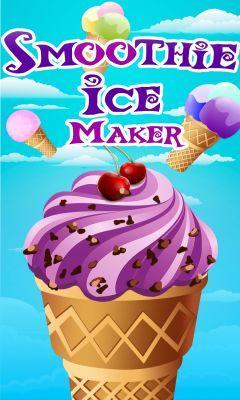Smoothie ice maker