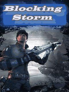Blocking storm