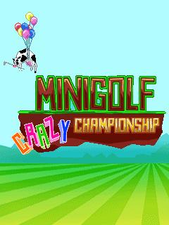 Minigolf crazy championship