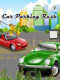 Car parking rush