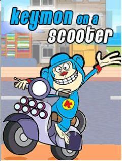 Keymon on Scooter