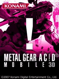 Metal Gear Acid 3D