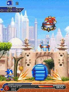 Free Download Sonic: Unleashed for Nokia 7230 - App