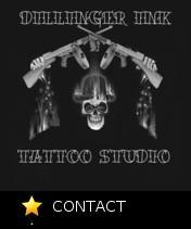 Dillinger Ink Tattoos