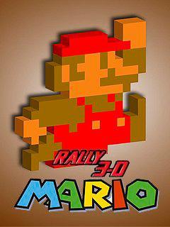 Mario rally 3D