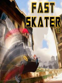 Fast skater 3D