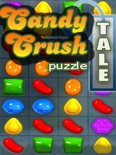 Candy crush puzzle tale