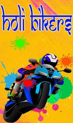 Holi bikers