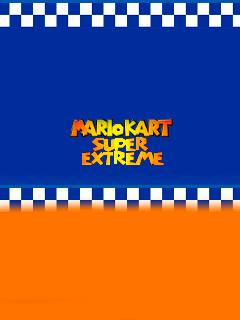 Mario kart: Super extreme