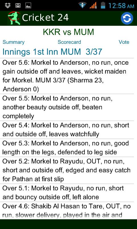 Free Download Cricket IPL Live for Samsung E2232 - Sport App