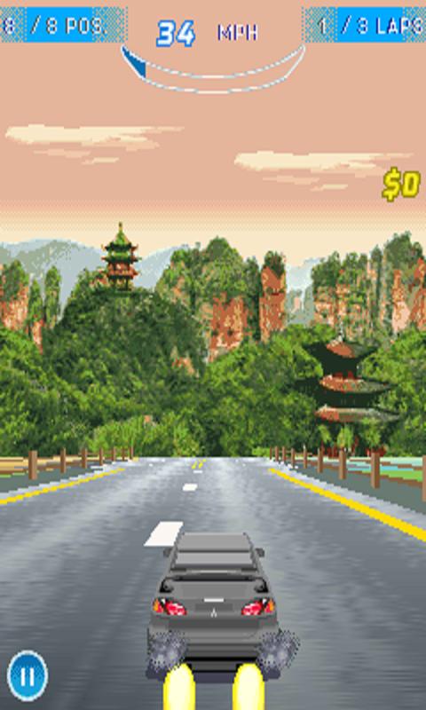 Free Download Asphalt Nitro racing for Java - App