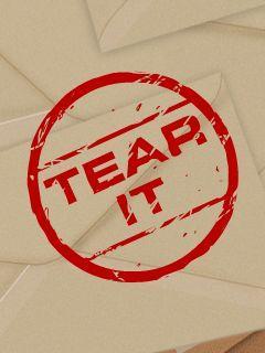 Tear it