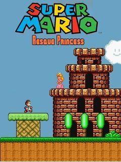Super Mario rescue princess