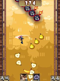Free Download The Ninja Jumping Cut Fruit For Java App
