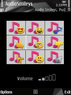 Audio Smileys
