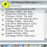 Birthday Manager