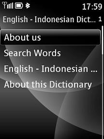 English - Indonesian - English Dictionary