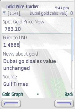 Gold Price and News Tracker
