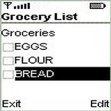 Grocery for Java