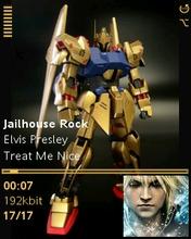 Gundam Seed Destiny Skin for KD Player