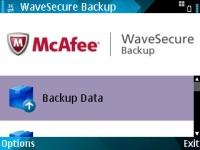 McAfee WaveSecure Backup (Java)