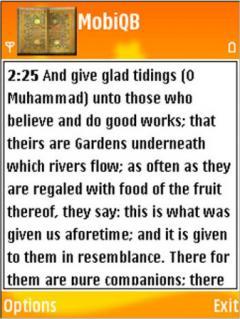 Mobile Quran Browser