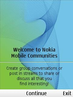 Nokia Mobile Communities
