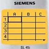 Sheet for Siemens