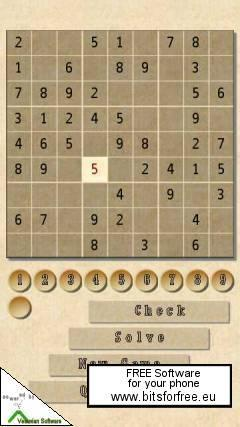 SuDoKu Soft Touch (S60 5th Edition)