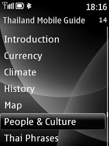 Thailand Mobile Guide