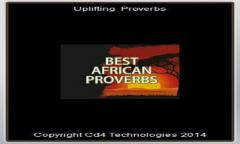 African Wise proverbs