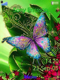 Aniamated Butterfly