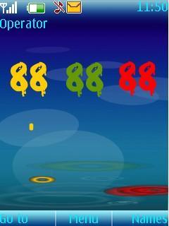 Téléchargement gratuit Animated Flash Clock Pour Nokia X2