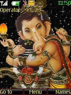 Animated Ganesh Ji