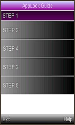 App lock Guide