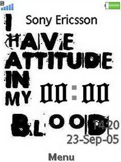 Attitude Clock