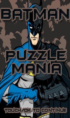 Batman Puzzle Mania Free