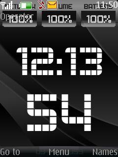 Battery Signal Clock