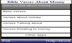 BIBLE VERSES  TALKING ABOUT MONEY