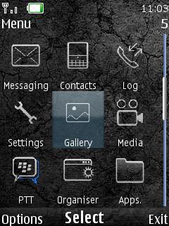Blackberry Eroded
