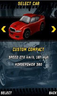 Burnout Mobile Racer