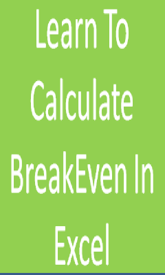 Calculate BreakEven