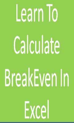 Calculate BreakEven
