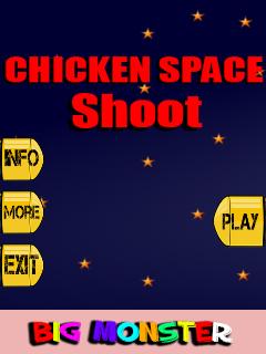 Chicken Space Shoot