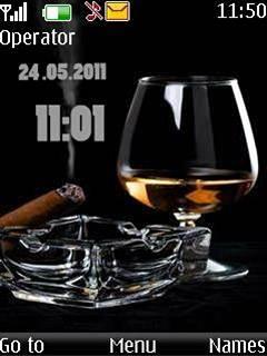 Cigar Clock